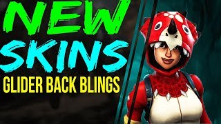 Fortnite Battle Royale NEW SKINS, BACK BLINGS, PICK AXE BUNNY Outfits RAVEN LEGENDARY RARE v3.5.0