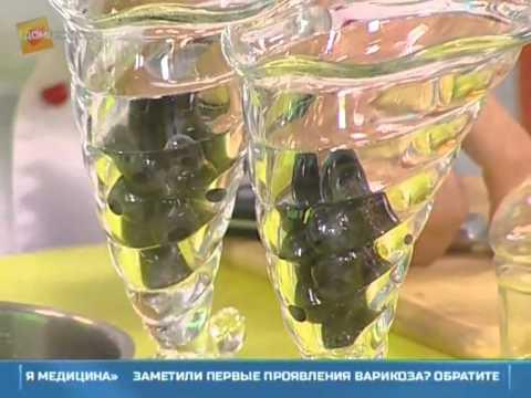 Как сделать прозрачное желе из желатина