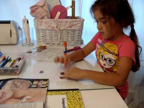 Penelopes 1st homework assigment . Kindergarten