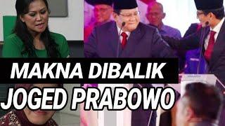 JOGET PRABOWO DI DEBAT CAPRES DIANALISA PAKAR PERSONAL BRANDING;PILPRES 2019;JOKOWI MA'RUF;SANDIAGA