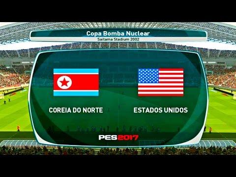 NORTH KOREA X USA ( 4K - ULTRA HD ) SAITAMA STADIUM - PES 2017