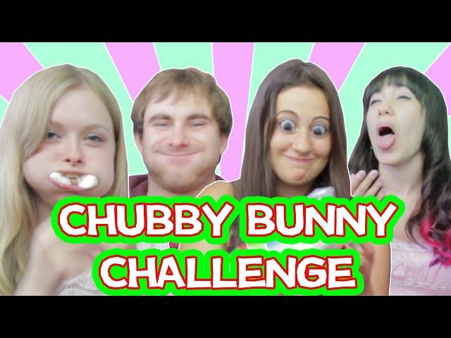 Chubby Bunny Challenge | ATSUI Show (mit MrTrashpack, ItsColeslaw & Saadet)