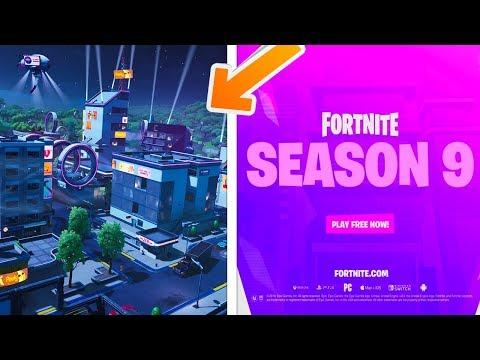 OFFICIAL SEASON 9 CINEMATIC TRAILER - Fortnite Neo Tilted, Mega Mall, Season 9 Battle Pass Skins!