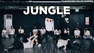 [4X4] CIX (씨아이엑스) - 정글 (JUNGLE) I 안무 댄스커버 DANCE COVER [4X4 ONLINE BUSKING]