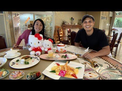 Eating Hello Kitty Luxury Japanese Cuisine