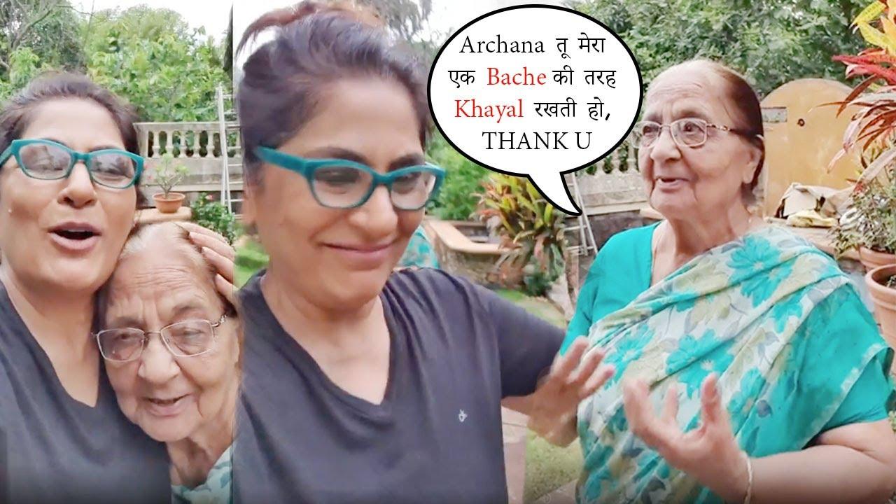 Archana Puran Singh की MUMMY की ऑखे हुई नम, THANKS Her Caring Daughter