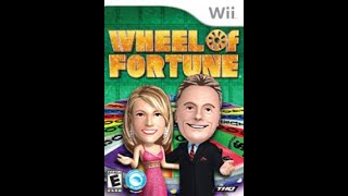 Nintendo Wii Wheel of Fortune 9th Run Game #1