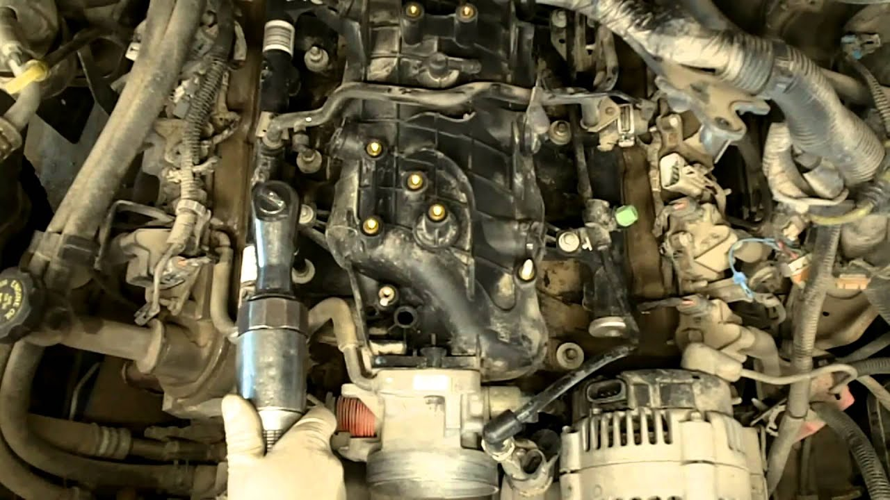 chevy 5 3lit intake r r hd youtube jaguar v12 engine diagram ferrari v12 engine diagram