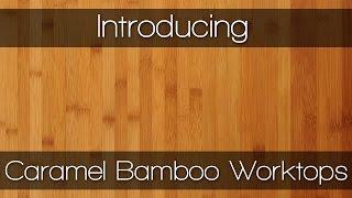 Caramel Bamboo - Wood Worktops by Worktop Express
