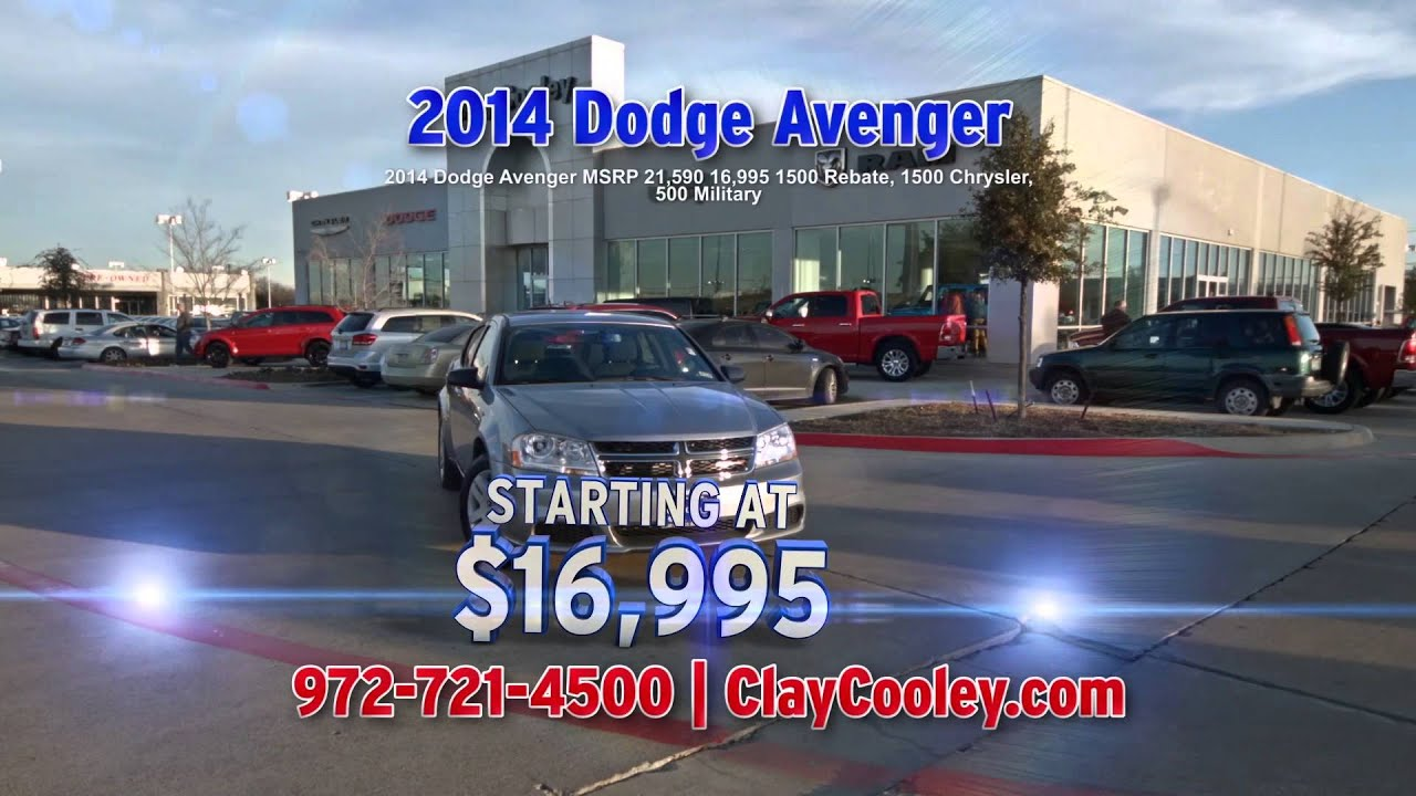 Clay Cooley Chrysler Jeep Dodge Big Sale