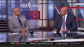 Rockets vs Spurs Game 4 Halftime Report   Inside The NBA   May 7, 2017