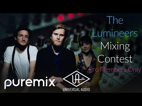 "Mix The Lumineers Hit Song ""Angela"" And Win Universal Audio Hardware!"