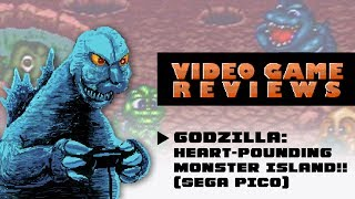 Godzilla: Heart-Pounding Monster Island!! (Sega Pico) - MÏB Video Game Reviews Ep 8