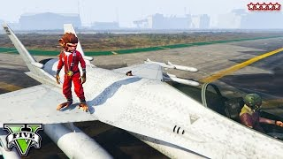 GTA 5 Flying Bikes and Riding Planes!! EPIC MODDED BIKE STUNTS & GAMEPLAY (GTA 5 Funny Moments)