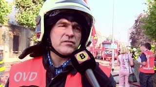 Grote brand verwoest woning Grotestraat Waalwijk