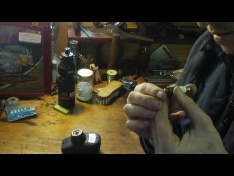 Cleaning A Spark Plug