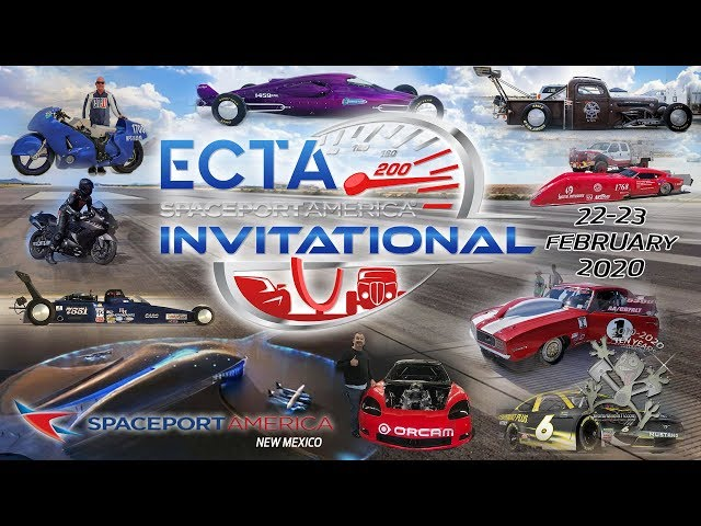 ECTA Spaceport America Invitational Land Speed Event - Sunday