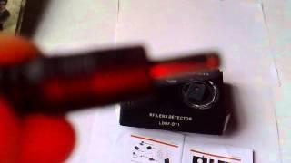 видео Универсальный детектор жучков