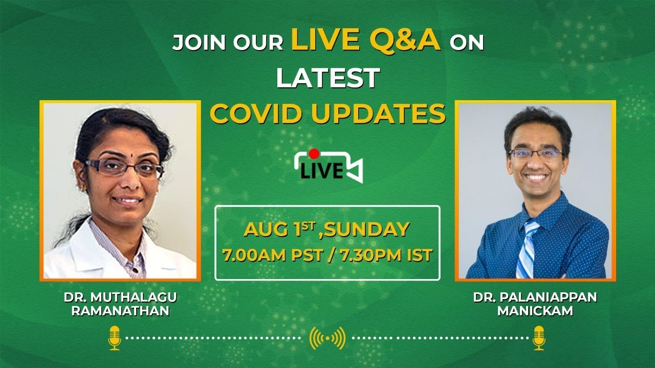 Increasing cases in KERALA - Third wave in India? and other vaccination questions - Live Q & A
