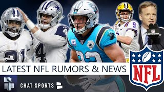 NFL News & Rumors: Christian McCaffrey Contract, Dak Party Investigation, 2020 Draft Update & Trades