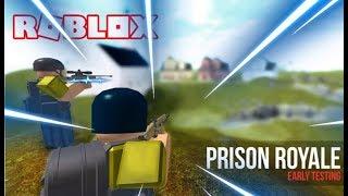 BATTLEGROUNDS NO ROBLOX !! ( Prision Royale ) 🎮
