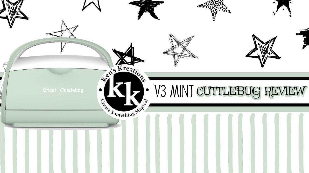 Cuttlebug Die Cutting Machine Review & Tutorial