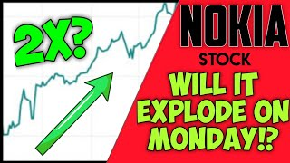 NOKIA STOCK ANALYSIS + PREDICTIONS! - WILL WE SEE NOKIA STOCK EXPLODE ON MONDAY & IS IT A BUY NO