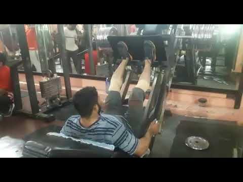 Leg press workout @ BBC gym malakpet(7)
