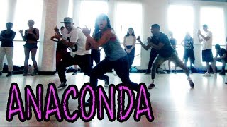 ANACONDA - Nicki Minaj Dance VIDEO | @MattSteffanina Choreography (Official)(NICKI MINAJ - Anaconda Dance Video | Choreography by Matt Steffanina Learn this dance with the TUTORIAL!! » http://youtu.be/WSLj46huzdc ▷ TWITTER ..., 2014-08-21T19:46:00.000Z)