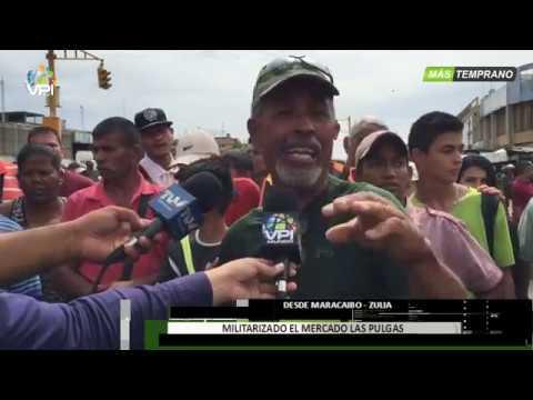 Venezuela - Militarizado El Mercado Las Pulgas De Maracaibo - VPItv
