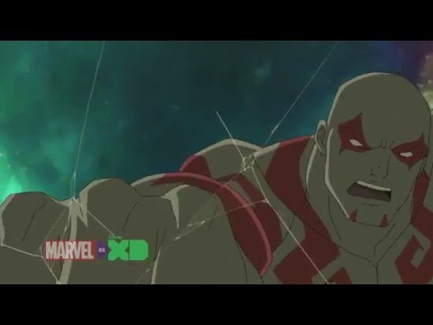 Guardians of the Galaxy: Drax vs the Destroyer Armor