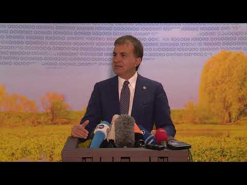 Press Conference of Turkey Minister of EU Affairs and Chief Negotiator Ömer Celik
