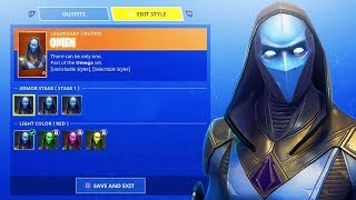"*NEW* ""Skin Customization"" in Fortnite Battle Royale! NEW SKINS DROPPING TONIGHT! (NEW UPDATE)"