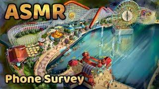 ASMR Phone Survey - Disney Role Play