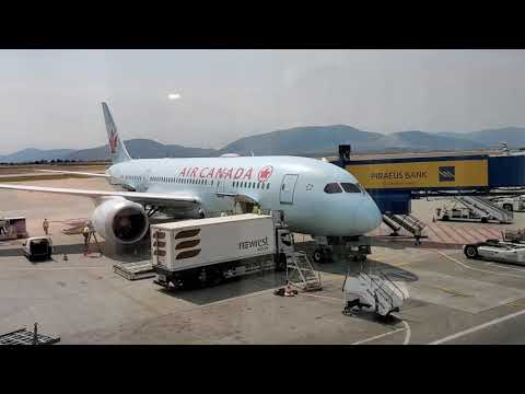 Toronto To Athens I Flying After Lockdown L Air Canada Flight AC825