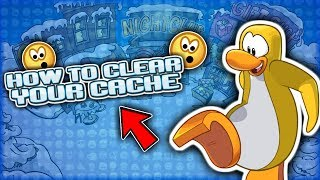 How To Clear Your Cache In Club Penguin Rewritten, Partys/Catalogs not Appearing,
