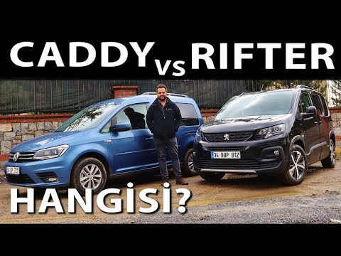 Peugeot Rifter vs VW Caddy - Hangisi?