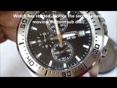 Citizen watch battery replacement - AN3460из YouTube · Длительность: 4 мин30 с