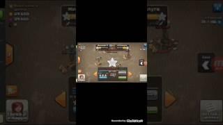 Clash of clans ( prima war)!!!