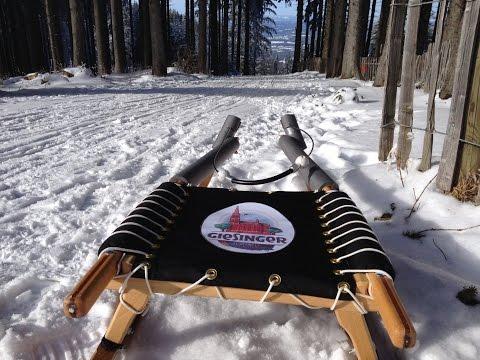 Blomberg bei Bad Tölz rodeln ab Bergstation mit GoPro HD Hero3