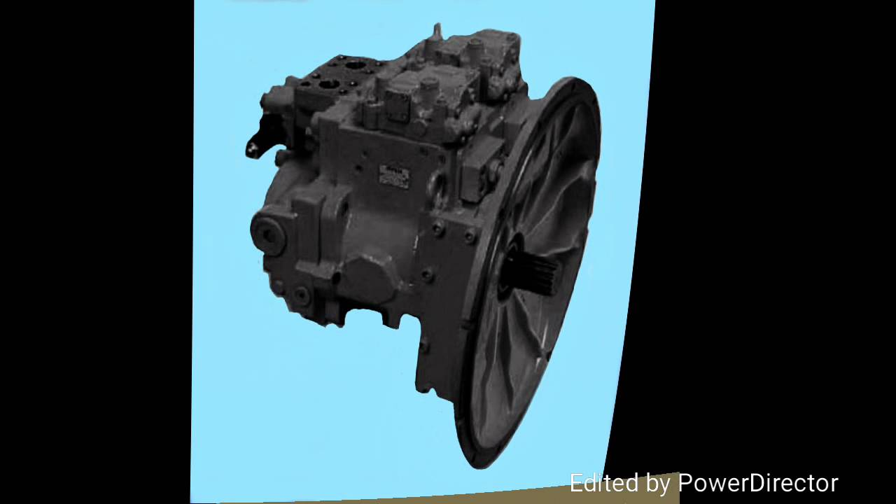 hight resolution of kobelco excavator hydraulic pumps