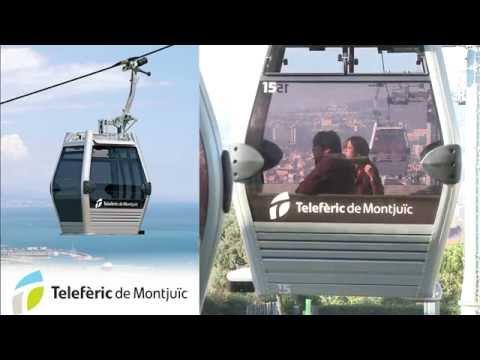 Vídeo promocional del Telefèric de Montjuïc (maig 2014)