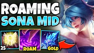 THIS NEW SONA MID STRATEGY IS TAKING OVER HIGH ELO! (FROSTFANG START) - League of Legends
