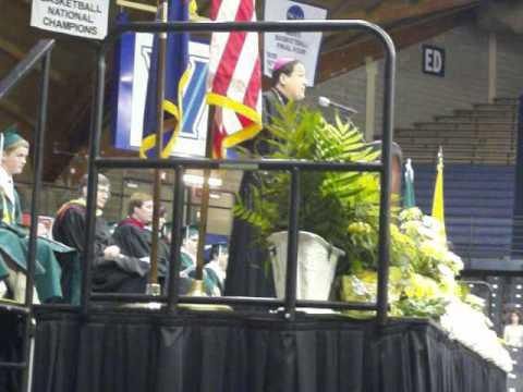 Monsignor Bonner High School Graduation 2012 (June 8, 2012) (Bishop McIntyre's Address)