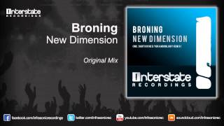 Broning - New Dimension (Original Mix)