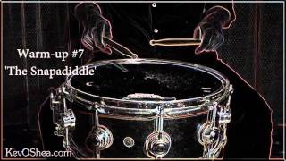Hybrid Drum Rudiments - 'The Snapadiddle' | Book Teaser