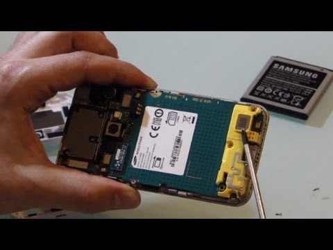 Samsung Galaxy BEAM part disassembly/HOW TO clean or replace parts of projector Smartphone
