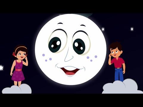 Chanda Mama Hindi Rhymes | Hindi Balgeet | Kids Tv India | Hindi Nursery Rhymes