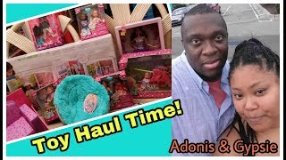 Toy Haul! what we found at Toys R Us and Walmart for Barbies and Journey Girls Dolls