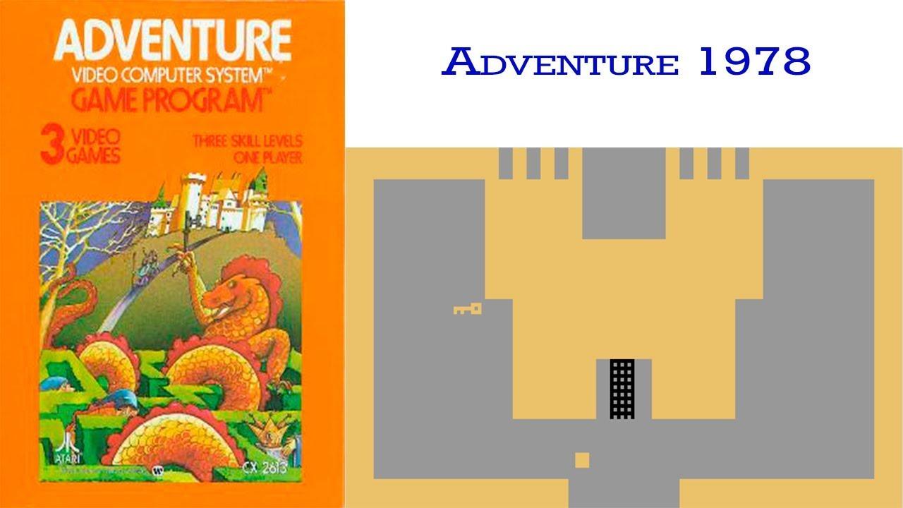El Juego De Adventure Atari De 1978 Youtube